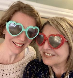 Heart Shaped Sunglasses - Rosalyn Palmer
