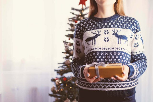 Christmas jumpers are about connection by Rosalyn Palmer