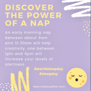 Sleep Graphic - Rosalyn Palmer